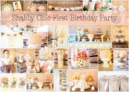 shabby chic themed birthday parties Vintage Shabby Chic Tea