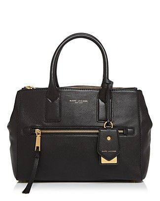 d9b5915fd416 MARC JACOBS Recruit East West Leather Tote