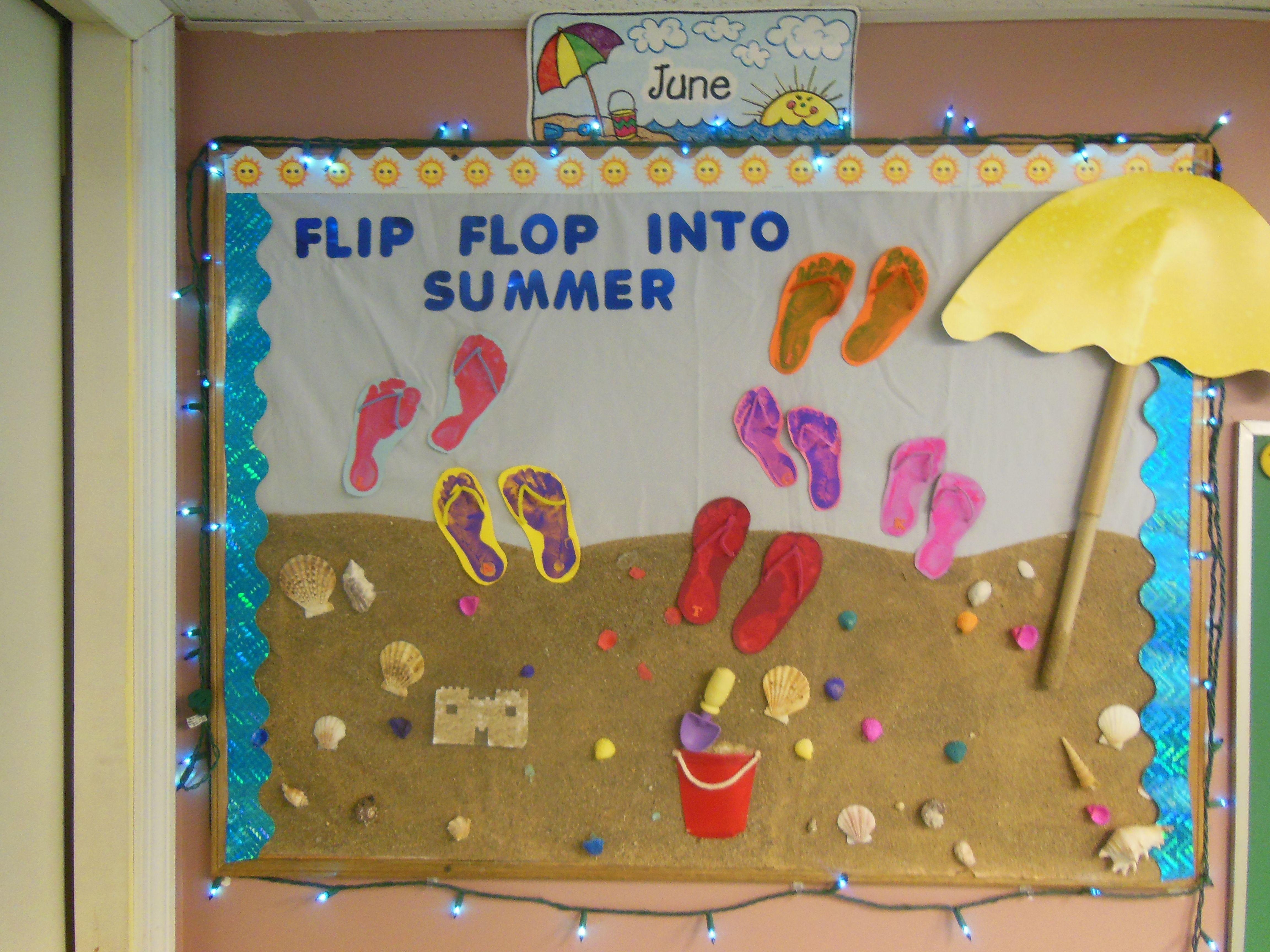 Summer Bulletin Board Guylainesplayhousedaycare