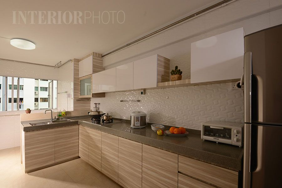 Bedok 3 room flat interiorphoto professional for Kitchen reno design