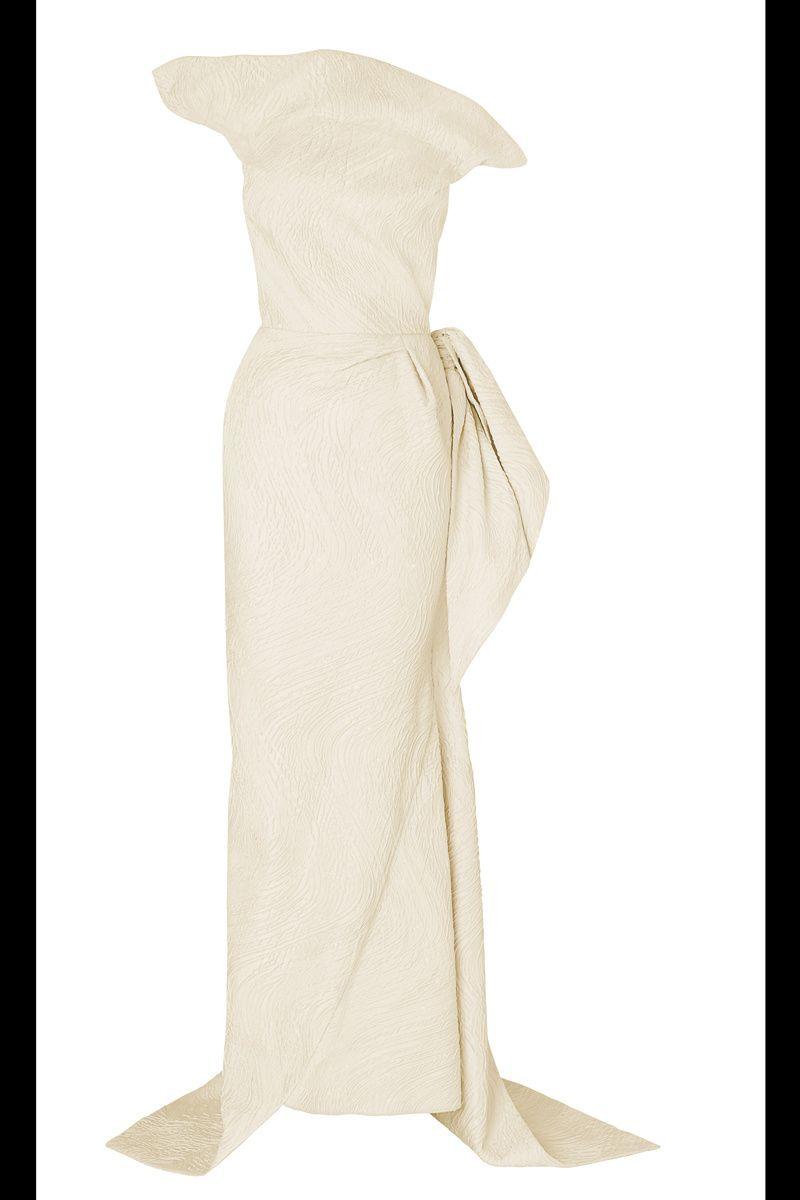 El diseñador Roland Mouret lanza una línea de vestidos de novia: modelo Breton