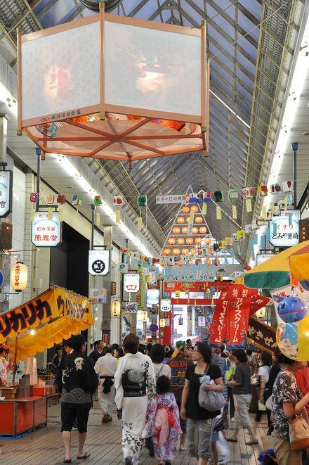 姫路ゆかたまつり West Side Of Miyukidori Near Himeji Sanyo 画像あり 日本 祭り 兵庫 関西