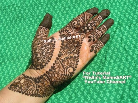 "YouTube Search ""nidhi's mehndiART"" YouTube channel #fashion #jewellery #trend #bridal #bride #wedding #marriage #festival #tradition #beautiful #girl #london #paris #canada #us #india #surat #ahmedabad #uk #arabic #floral #gulf #dubai #henna #mehndi #mehandi #art #drawing #tattoo #design #arabic #strip"