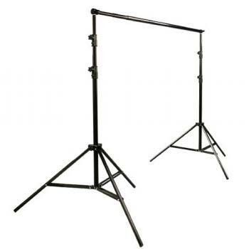 Ephoto Telescopic Backdrop Background Support Stand 2 Piece 7 Feet Stands And 6 Feet Cross B Backdrops Backgrounds Studio Photography Lighting Muslin Backdrops