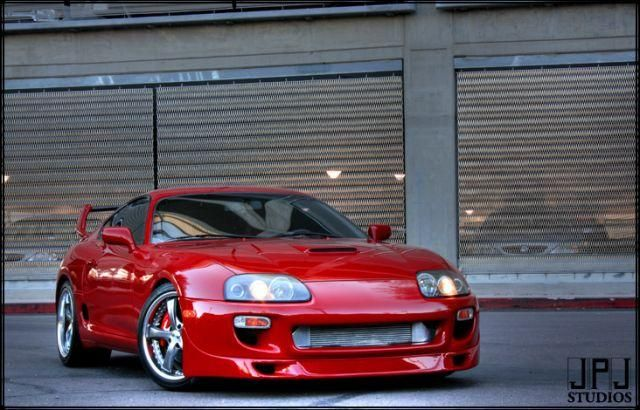 1994 Toyota Supra Twin Turbo | Art on Wheels | Cars | Toyota supra
