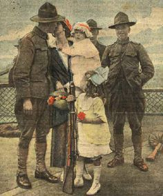 The Great War Society's Genealogical Research section - research your World War I ancestor here! #genealogy