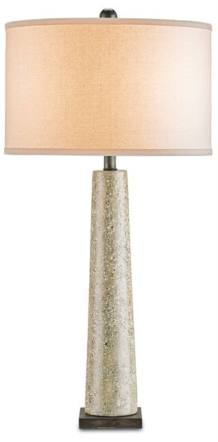 Epigram Table Lamp Currey And Company 33 H X 126 W Polished Concrete Bone Linen Shade 1x150watts Table Top Lamps Modern Table Lamp Table Lamp Design