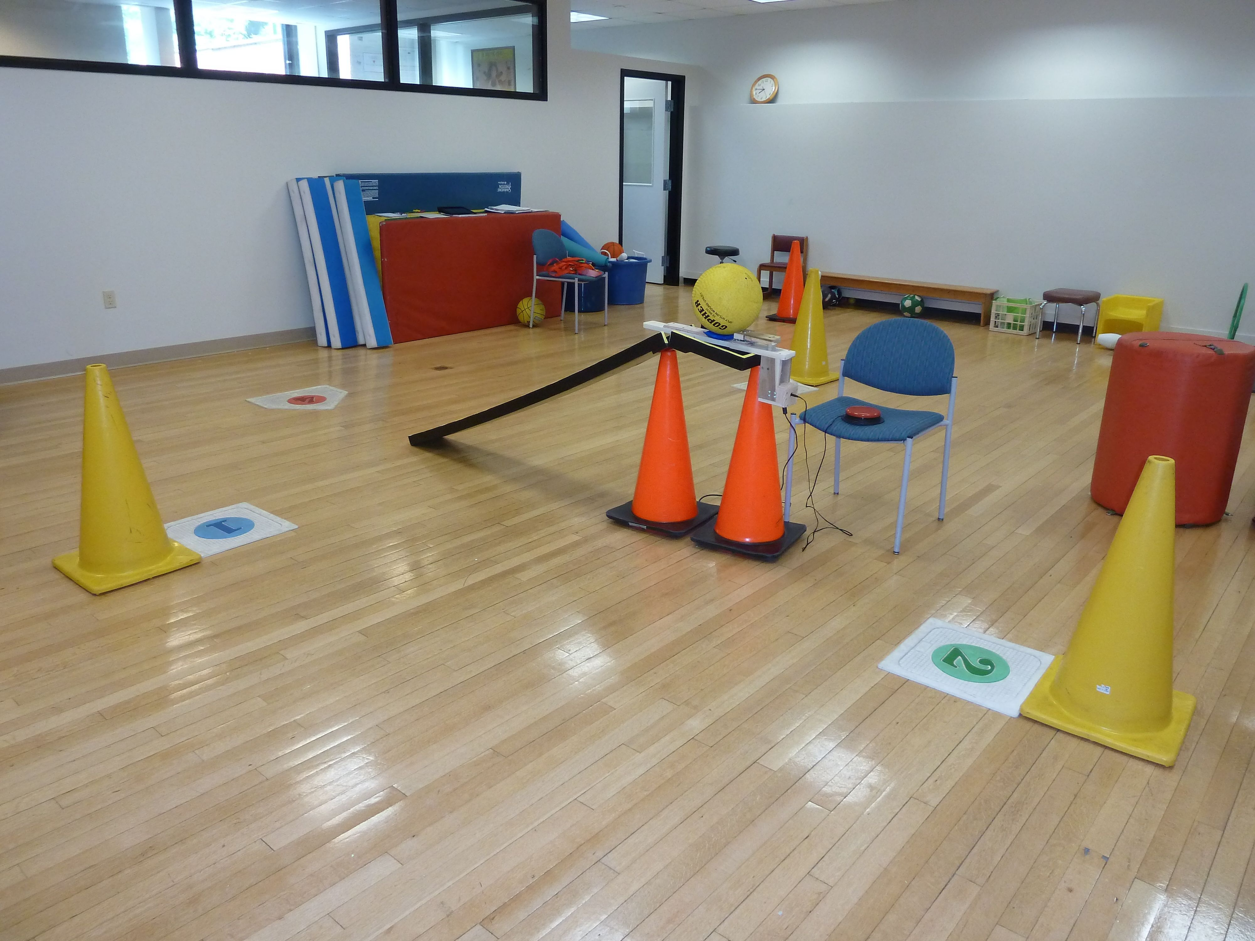 Modified TBall Adapted physical education, Physical