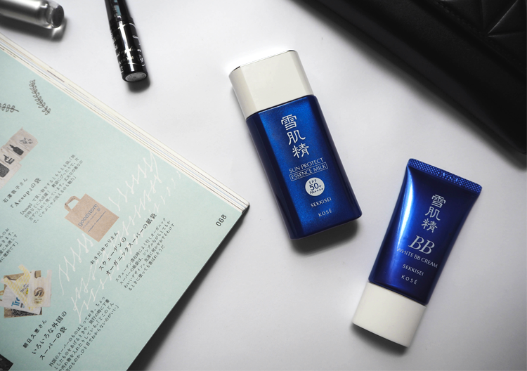Review kem chống nắng Kose Sekkisei Sun Protect Essence