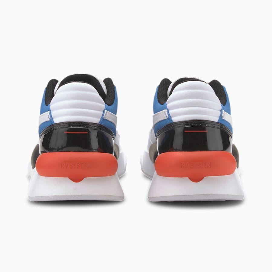 RS 9.8 Fresh Trainers | Puma White-Palace Blue | PUMA Shoes | PUMA United Kingdom