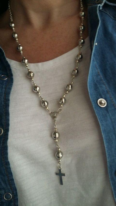 f01dc6154ad4 Rosario de cristales Collares Largos