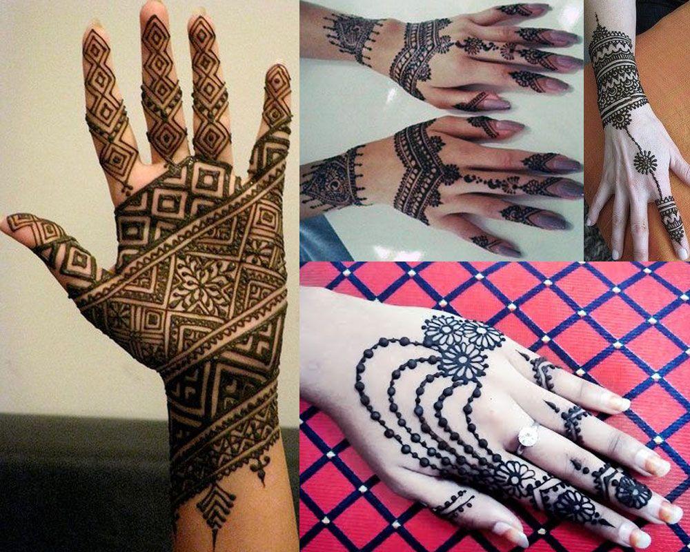Mehndi Designs Churidar : Beautiful arabic indian hands mehndi designs  for wedding
