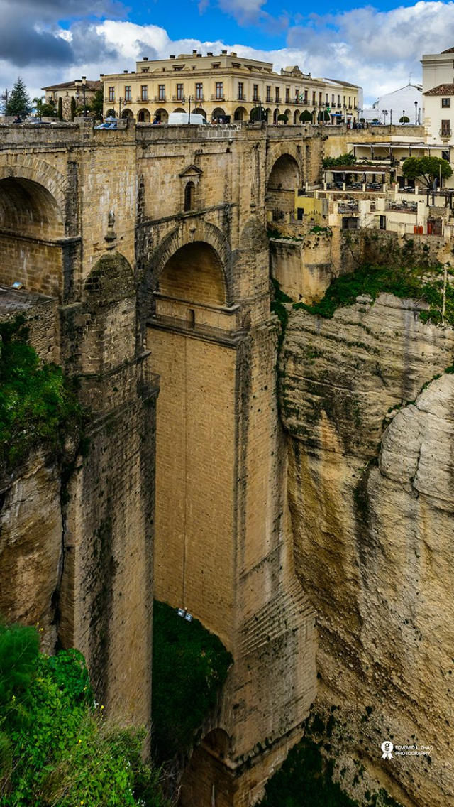 Roma Bridge Ronda Spain Iphone 5 Wallpapers Places To Travel Ronda Spain Places To Visit
