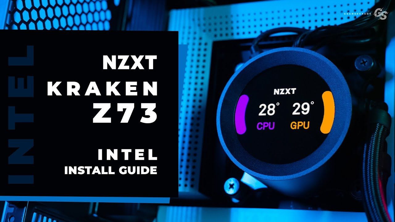 Howto Install Nzxt Kraken Z73 Z63 On Intel Desktop Hedt In 2020 Installation Intel Kraken