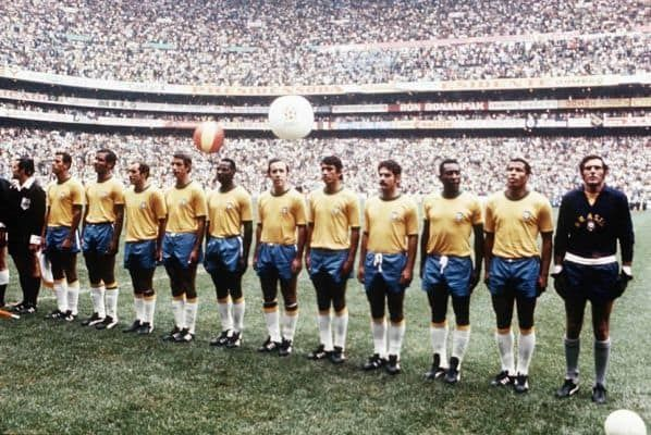 The 50 Best Soccer Kits Of All Time Jairzinho World Cup World Cup Winners