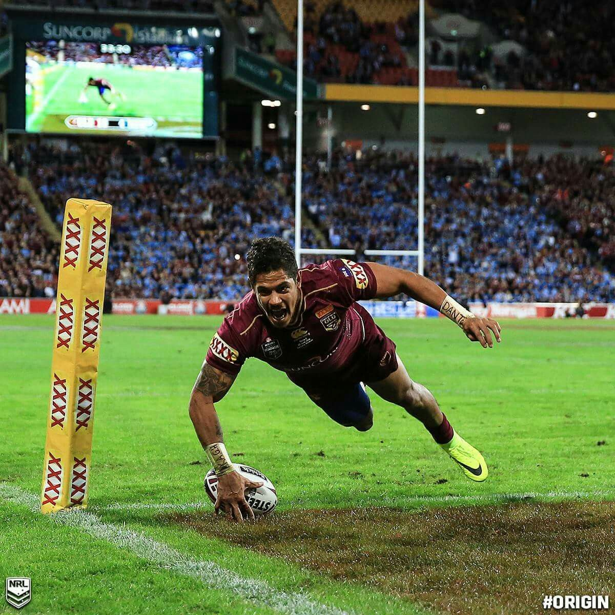 Dane Gagai QLD 2016 (With images) Rugby time, Rugby