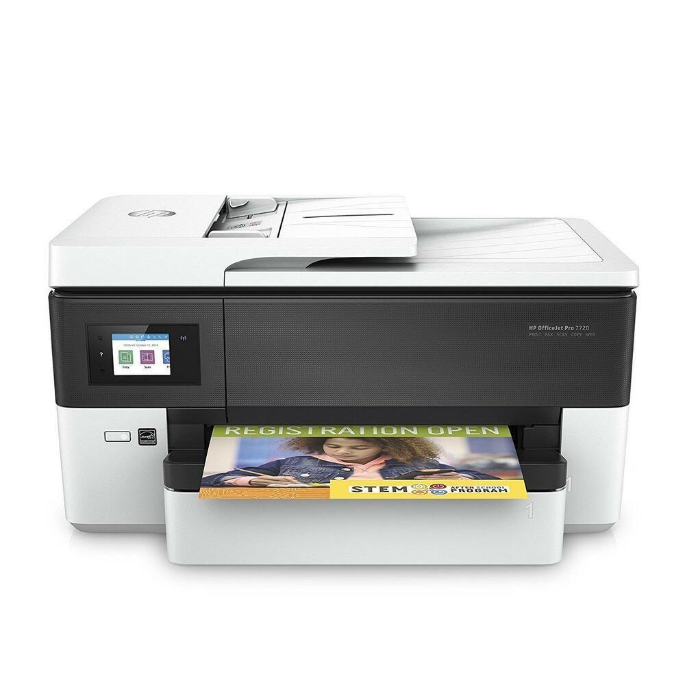 Hp Officejet Pro 7720 All In One Multifunktionsdrucker Scanner Kopierer Fax Weia Ebay Drucken Computer