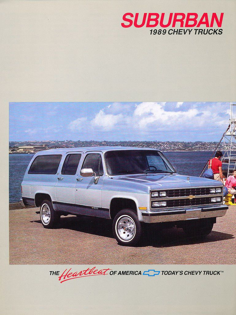 1989 Chevrolet Chevy Suburban Traded The 86 Suburban In On This