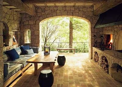 Siempre guapa con norma cano como decorar una casa de - Como decorar una casa rustica ...