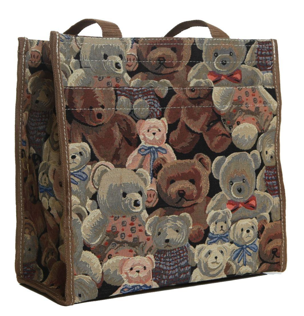 """Tapestry Signare /""""Cats /& Kittens/"""" Convertable Handbag Shoulder Bag"""