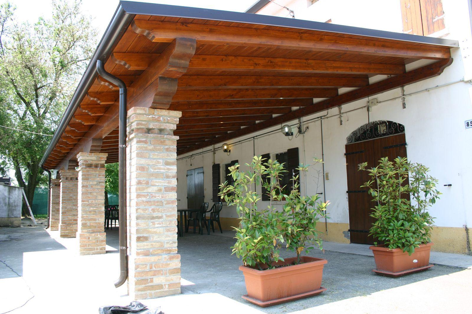 porticato in legno prezzi | pergole, tettoie porticati | Pinterest ...