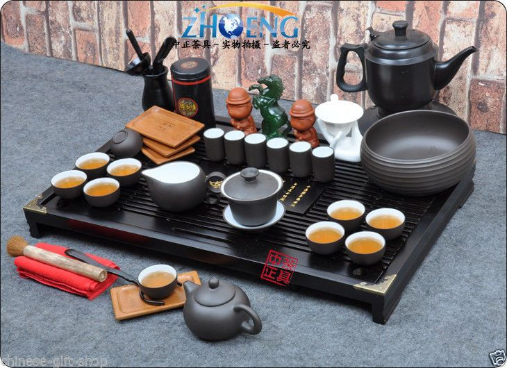 Oolong tea tray free shipping Boutique pottery tea set tea cup tea accessories