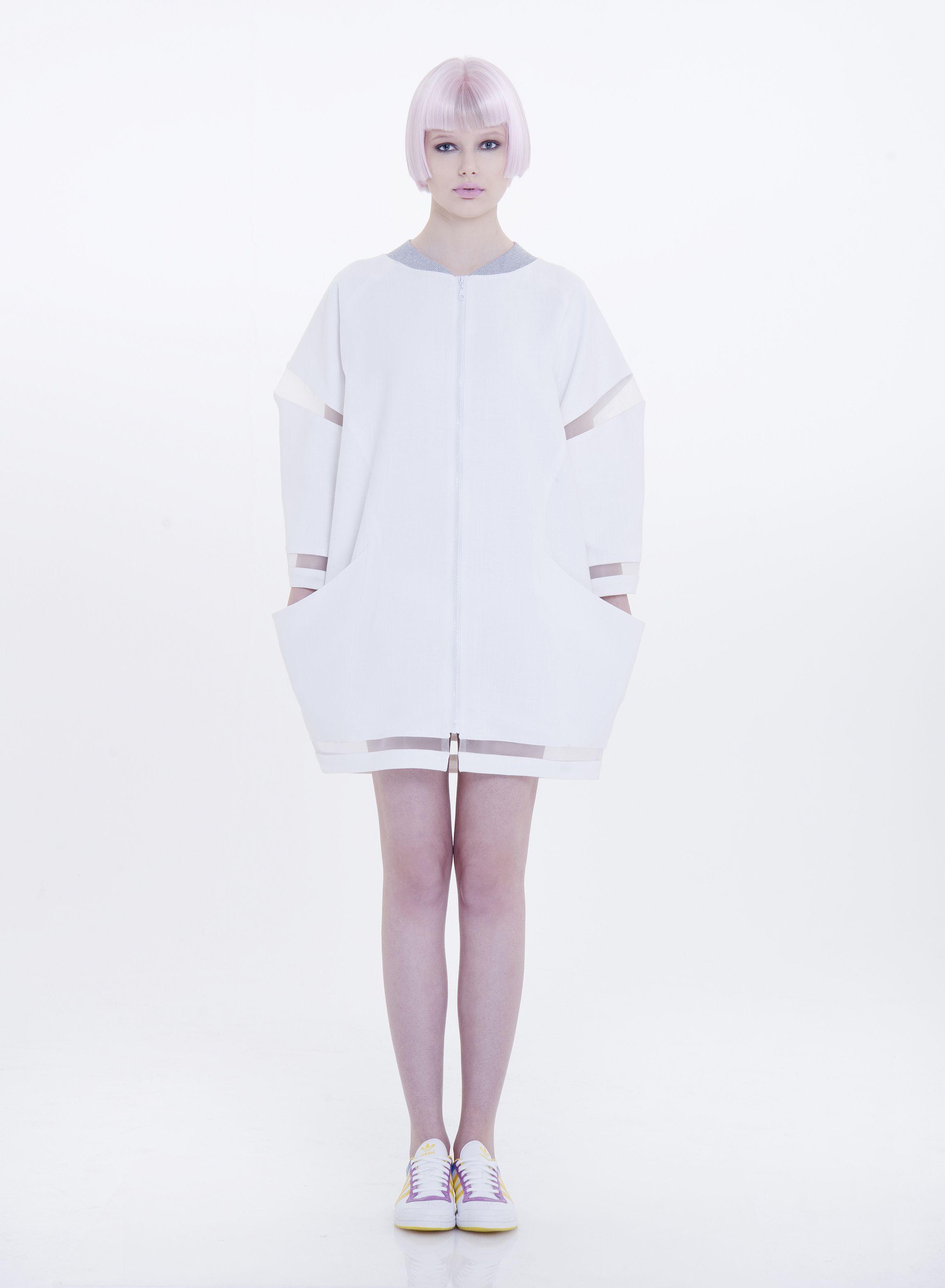 ece ozalp oversize dress jacket
