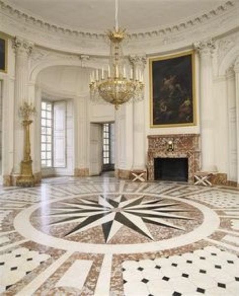 Marble floor design Star