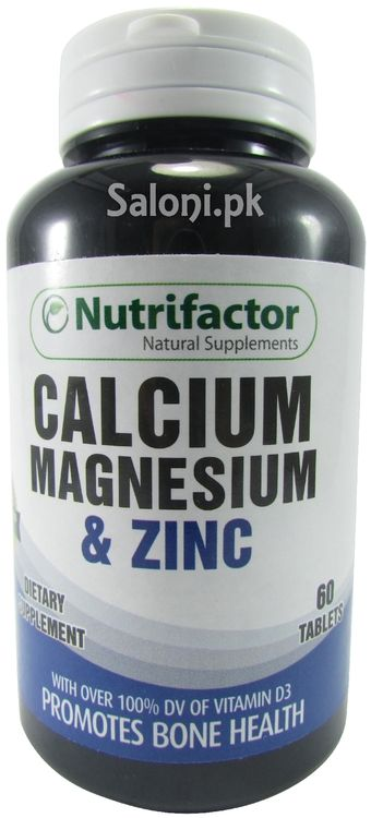 Nutrifactor Calcium Magnesium Zinc Tablets Is A Fine Dietary