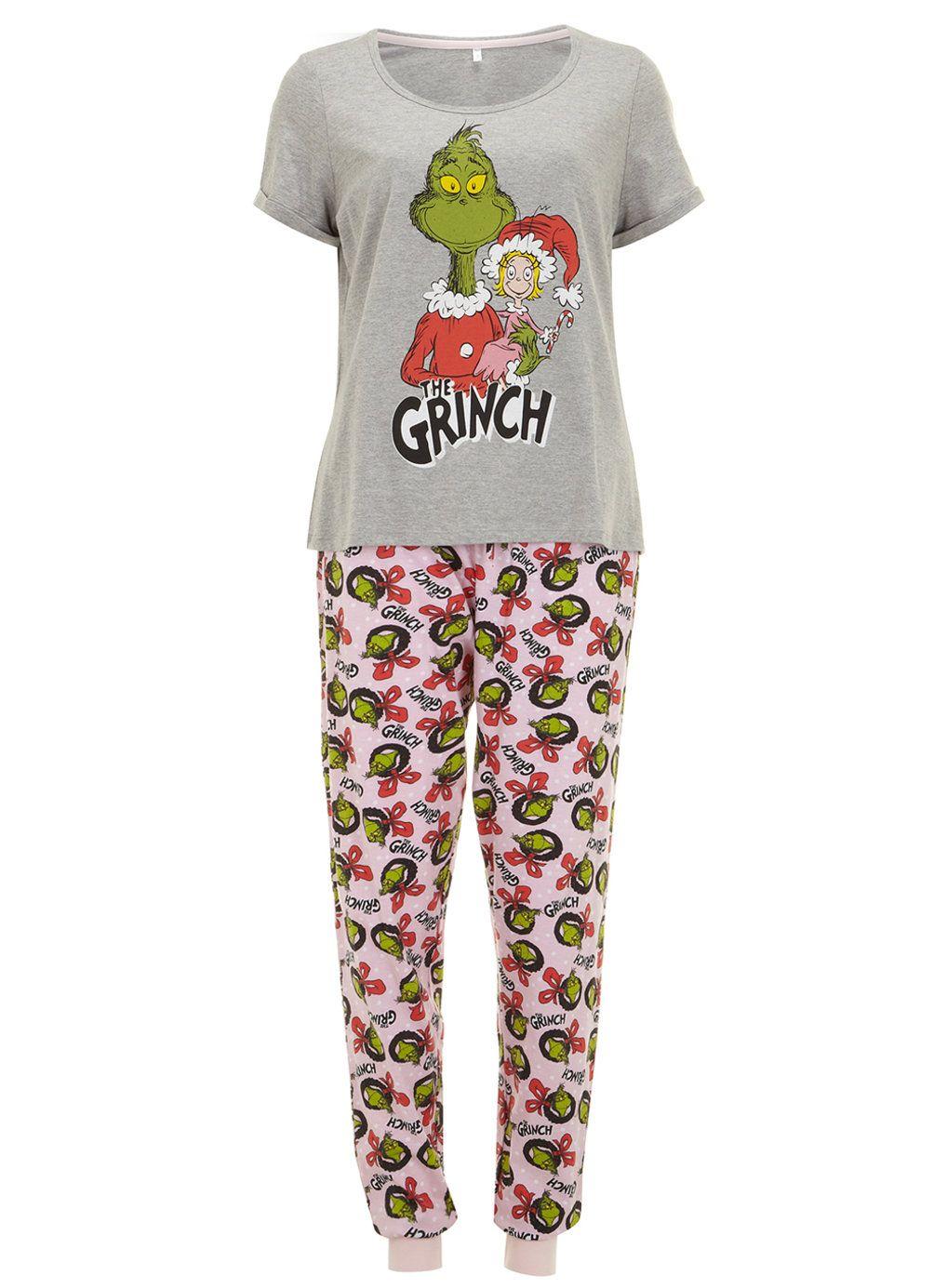 Pink Grinch Pyjamas - Nightwear - Clothing - Dorothy Perkins | AW16 ...