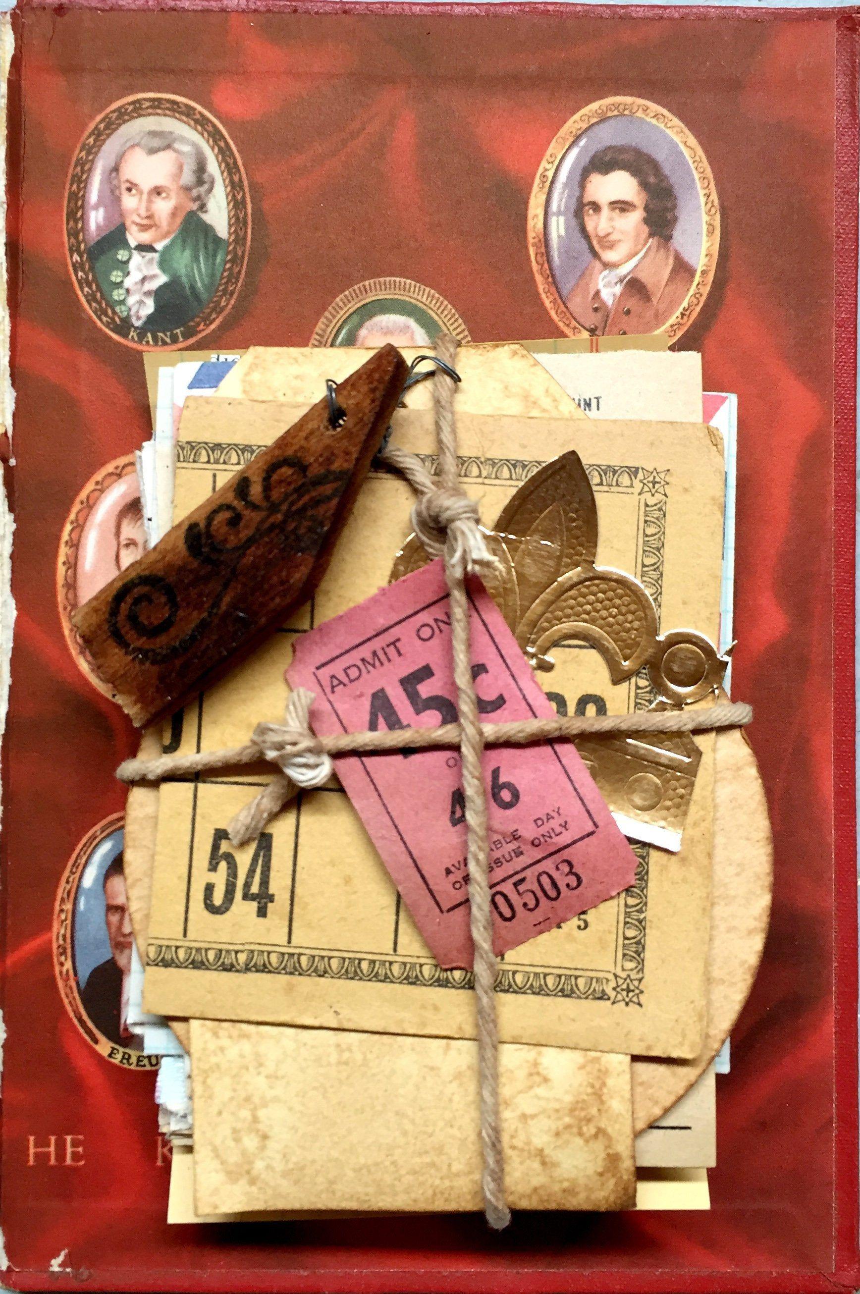 scrapbooks etc vintage paper ephemera for junk journaling 70 Vintage Book and Magazine pages collage art