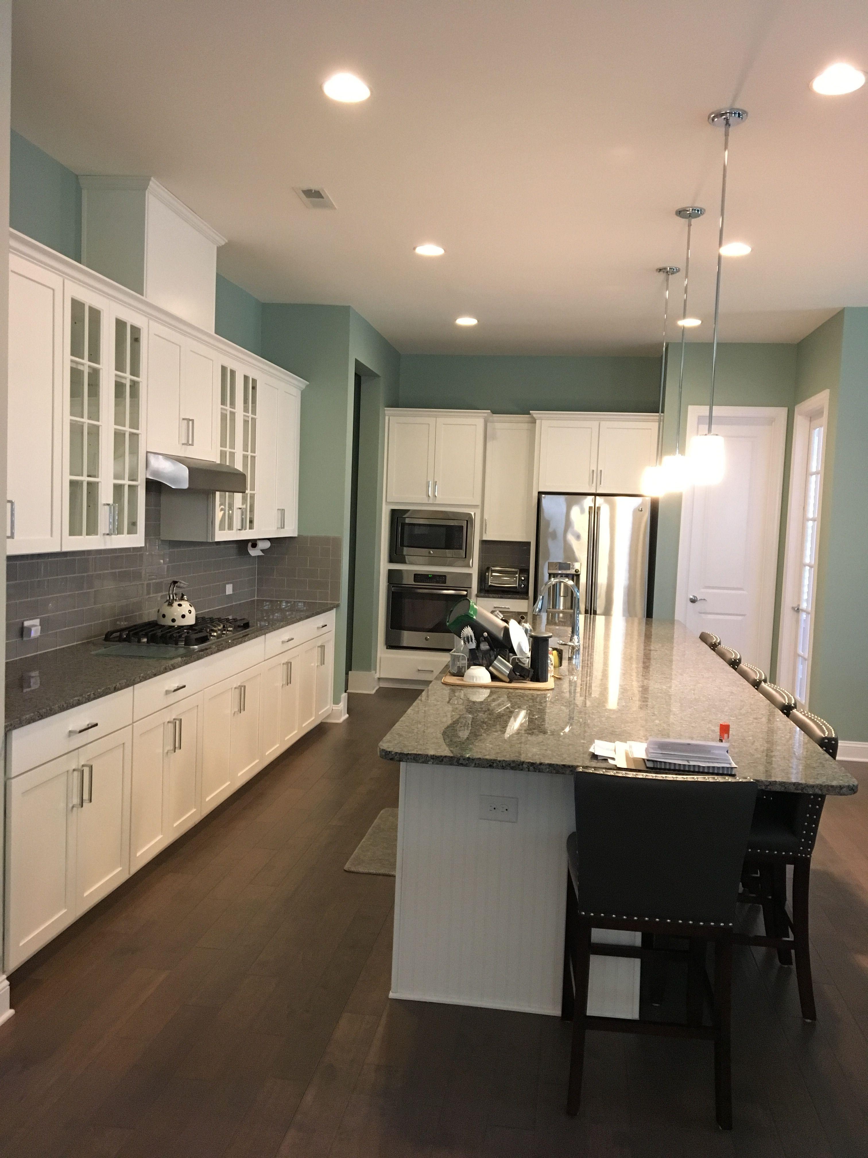 Sherwin Williams Rice Terrace Kitchen Iris McCray Interior Design