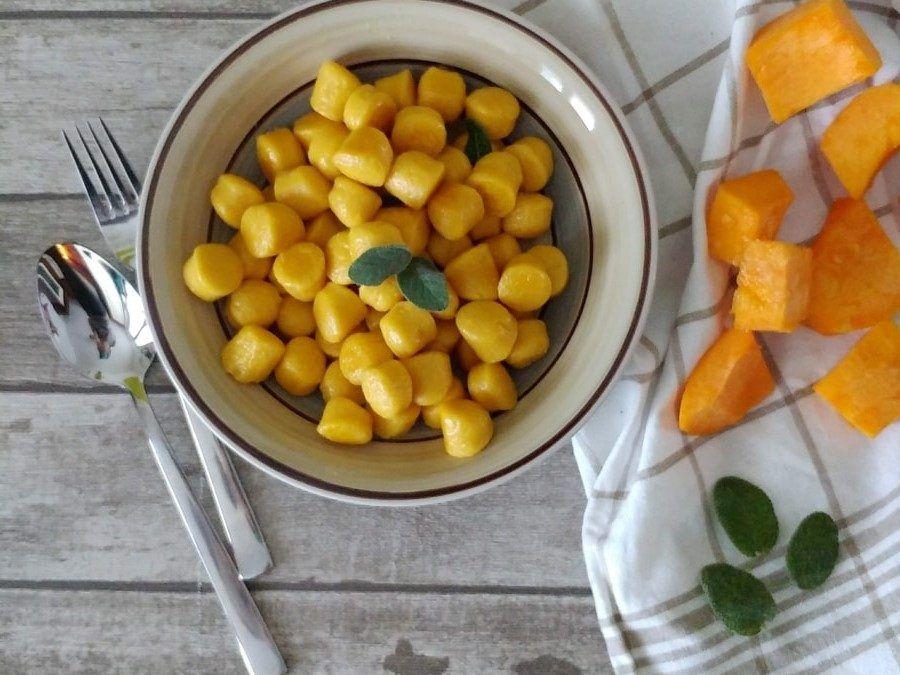 Ricetta Gnocchi Di Zucca Con Farina Di Quinoa.Pin On Gnocchi