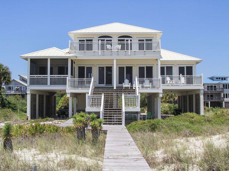 Sea Gl Plantation Beach Front St George Island Florida Collins Vacation