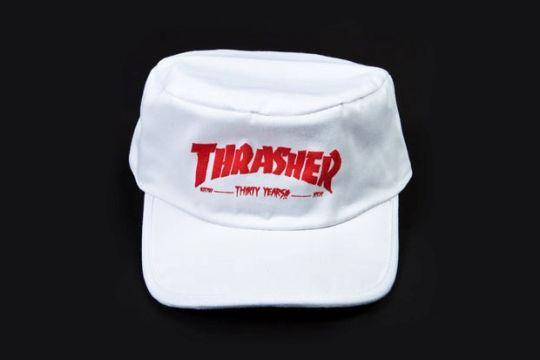 Radcollector - Thrasher 30th Anniversary Painters Cap  440ff213e6d