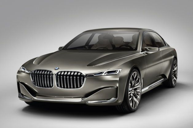BMW Vision Future Luxury arrives in Beijing dressed to the nines