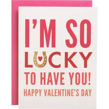 This sweet and loving Valentine card is a great way to show your partner how much you love them. Designed by Paper Source and printed in the USA. Blank inside.<br><br>Single folded A2 card (4.25 x 5.