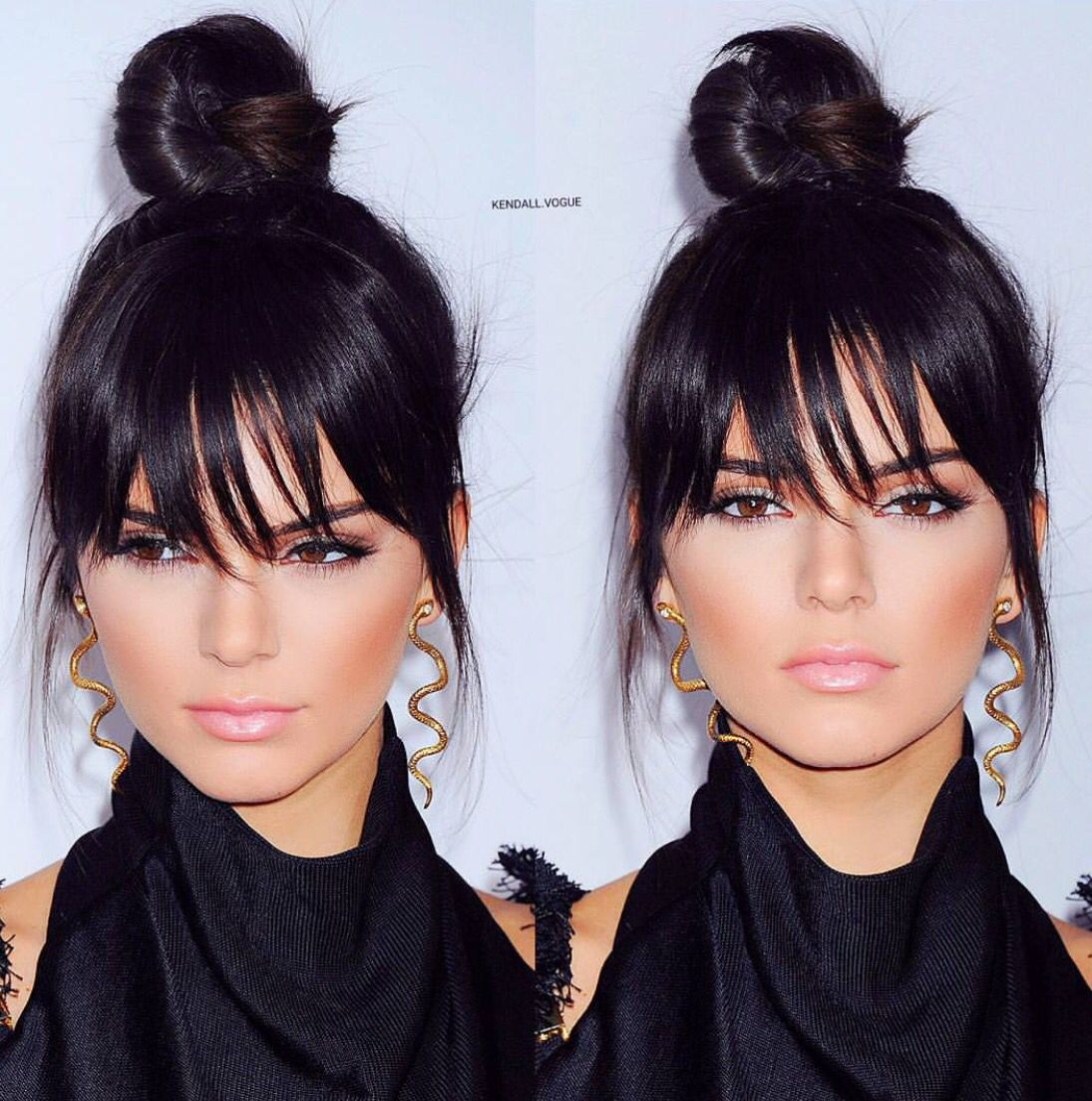 Fake Bangs Hairstyle Unique Pin Annabeldenisenko  Hair  Pinterest  Hair Style Updos And Makeup