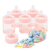 Fillable Pink Baby Bottle