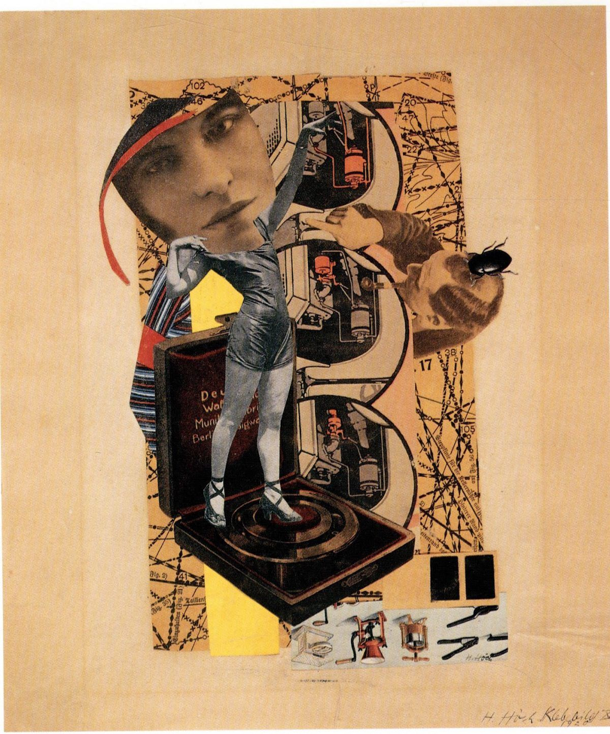Hannah Höch, The Artist Who Wanted 'to show the world today as an ant sees it and tomorrow as the moon sees it' - Flashbak