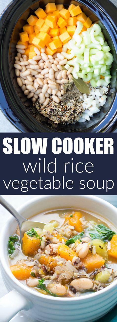 The Best Detox Crockpot Lentil Soup Pinch Of Yum Recipe In 2020 Crockpot Soup Recipes Easy Soups Soup Recipes