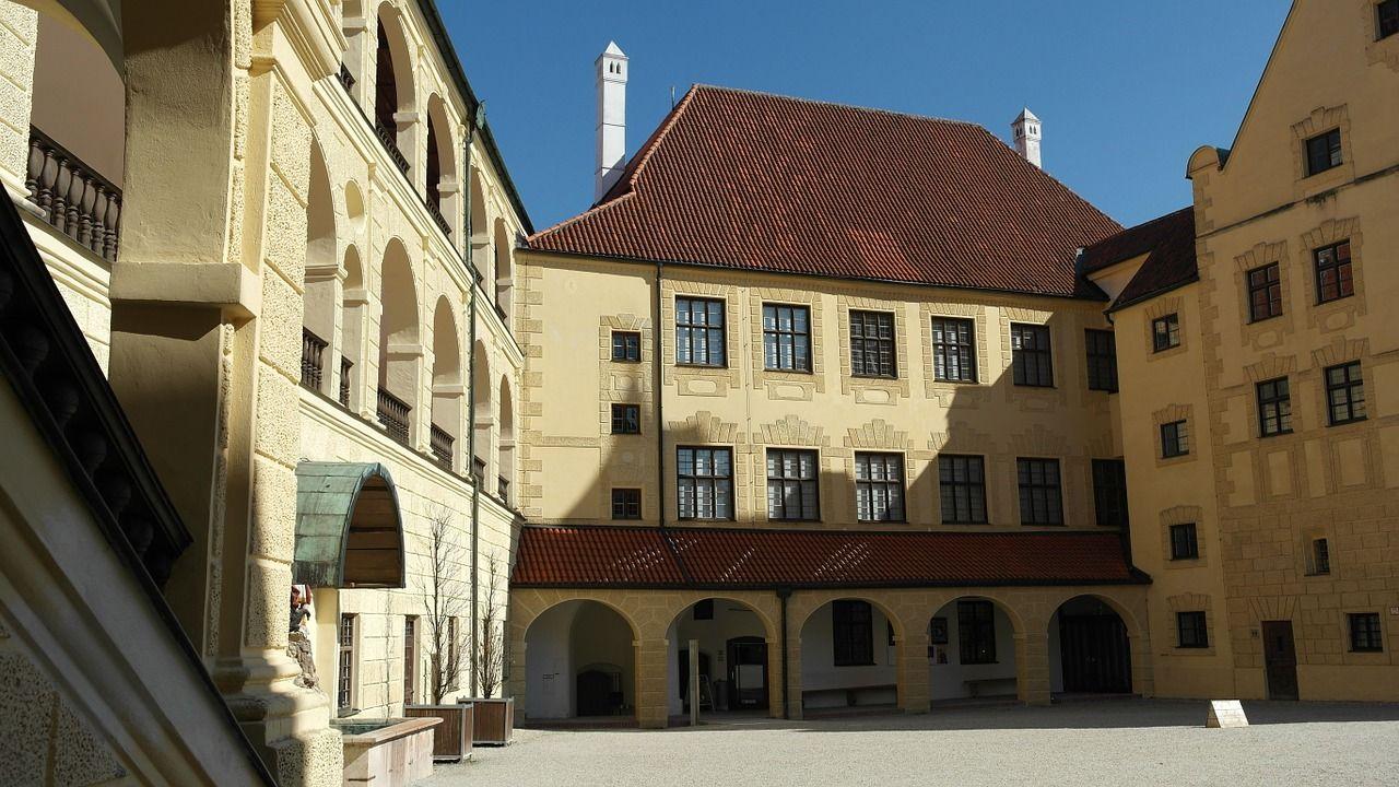 Castle, Trausnitz Castle, Landshut, City castle,