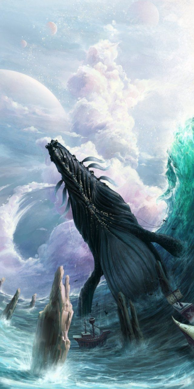 fantasy whale hunting | monsters & creatures | pinterest