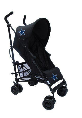 Dallas Cowboys Black Umbrella Stroller by Baby Spirit Gear, http://www.amazon.com/dp/B00DKCQB7G/ref=cm_sw_r_pi_dp_HOx5rb0BNGC7W