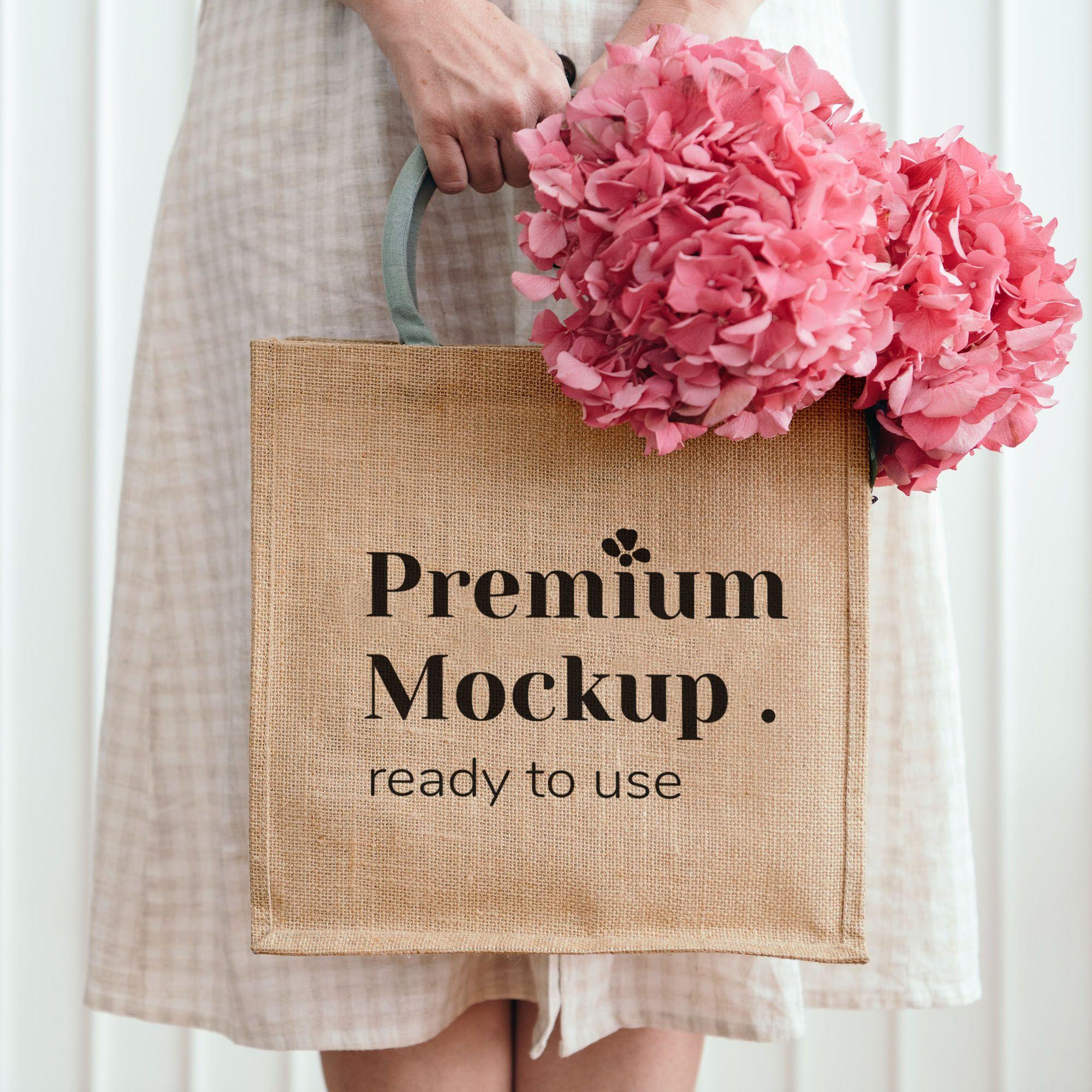 Download Jute Bag Mockup Jute Bags Silk Bag Bags