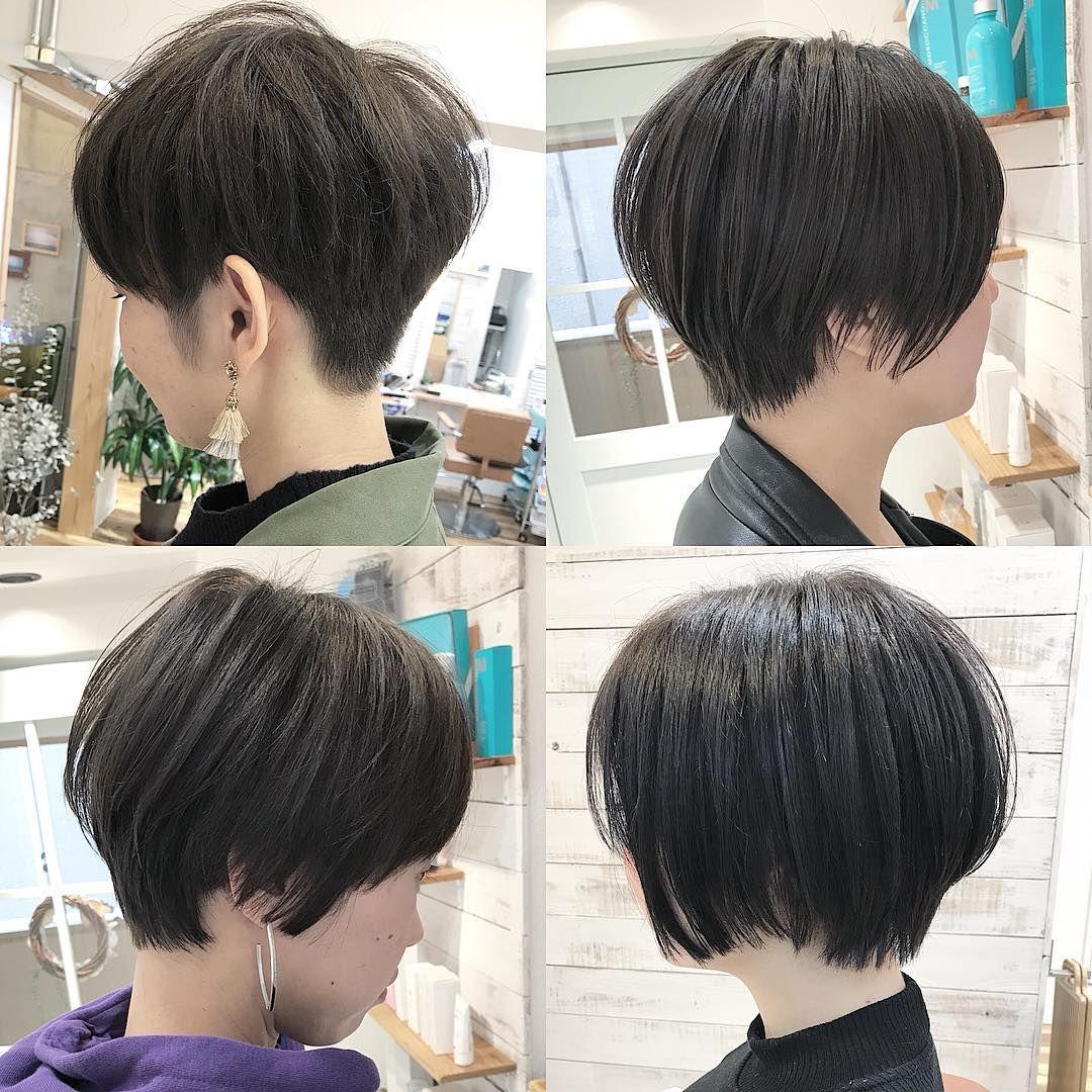 ショート ベリーショート いろいろの組み合わせでできるショートヘア
