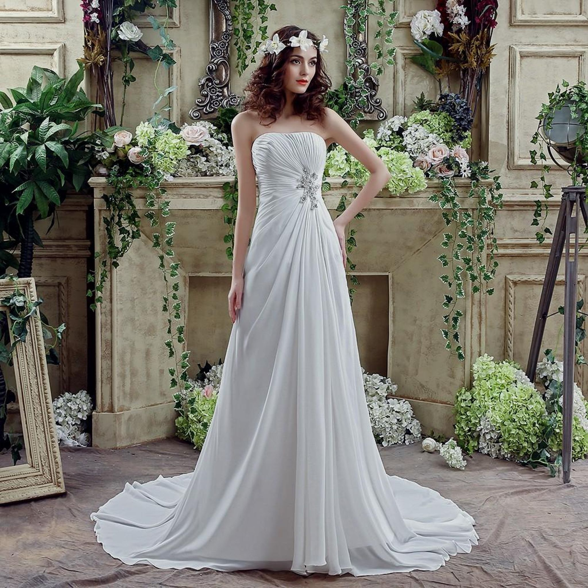 cheap country wedding dresses - best wedding dress for pear shaped ...
