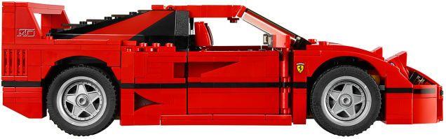 Lego's Gorgeous New Ferrari F40 Even Has a Removable V8 Engine #newferrari