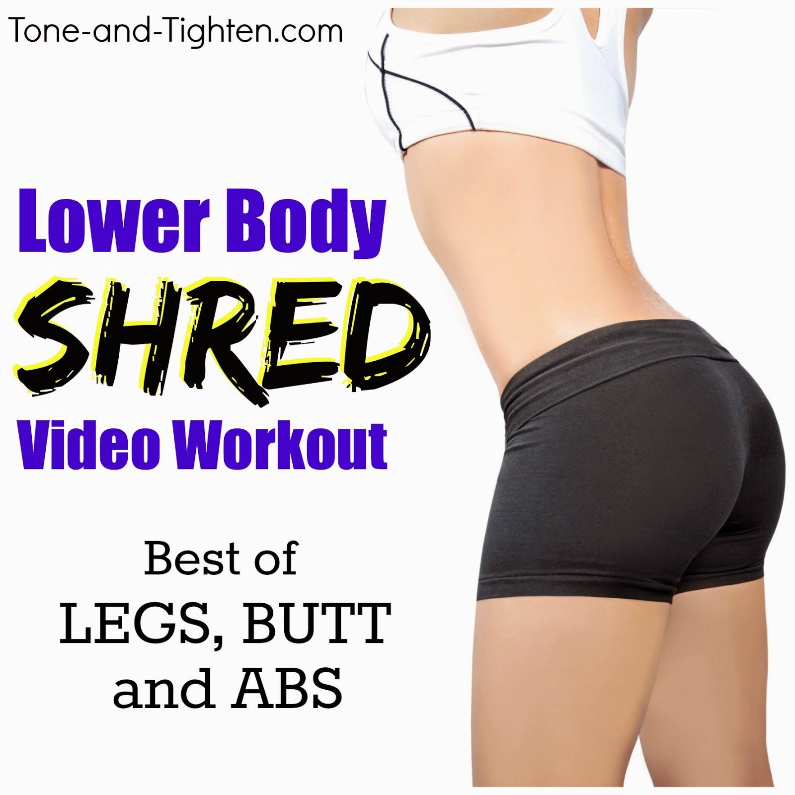Best glute exercises to get a toned butt