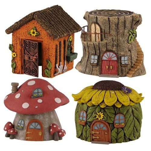 Gnome Garden: Grasslands Road-5 Styles Miniature Cement Fairy/Gnome